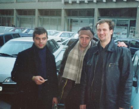 CV Banescu, Marius Ianus, Mihail Vakulovski, 2001, foto un cristian