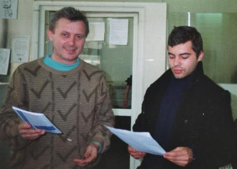 Ioan Es. Pop si CV Banescu, foto un cristian