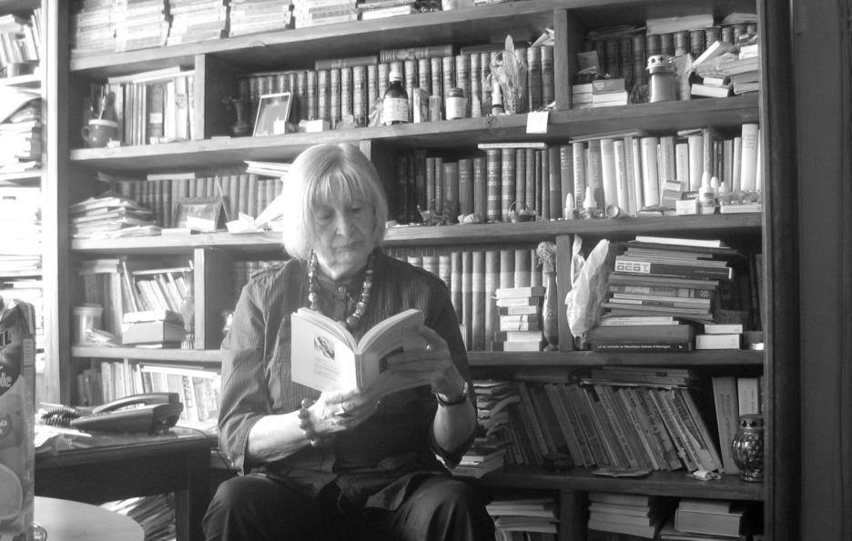Nora Iuga, 2008, fotografie de un cristian